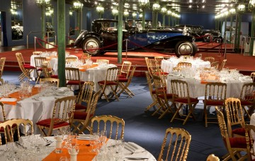 Cité de l'automobile restaurant